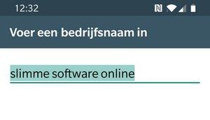 whatsapp business bedrijfsnaam