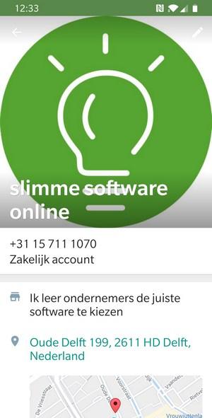 whatsapp business informatie