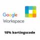 Google Workspace kortingscode