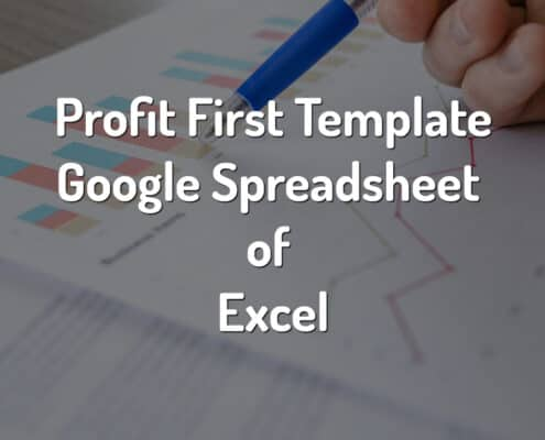 profit first template google drive of excel