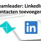Teamleader plugin linkedin toevoegen
