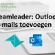 Outlook e-mail toevoegen aan Teamleader